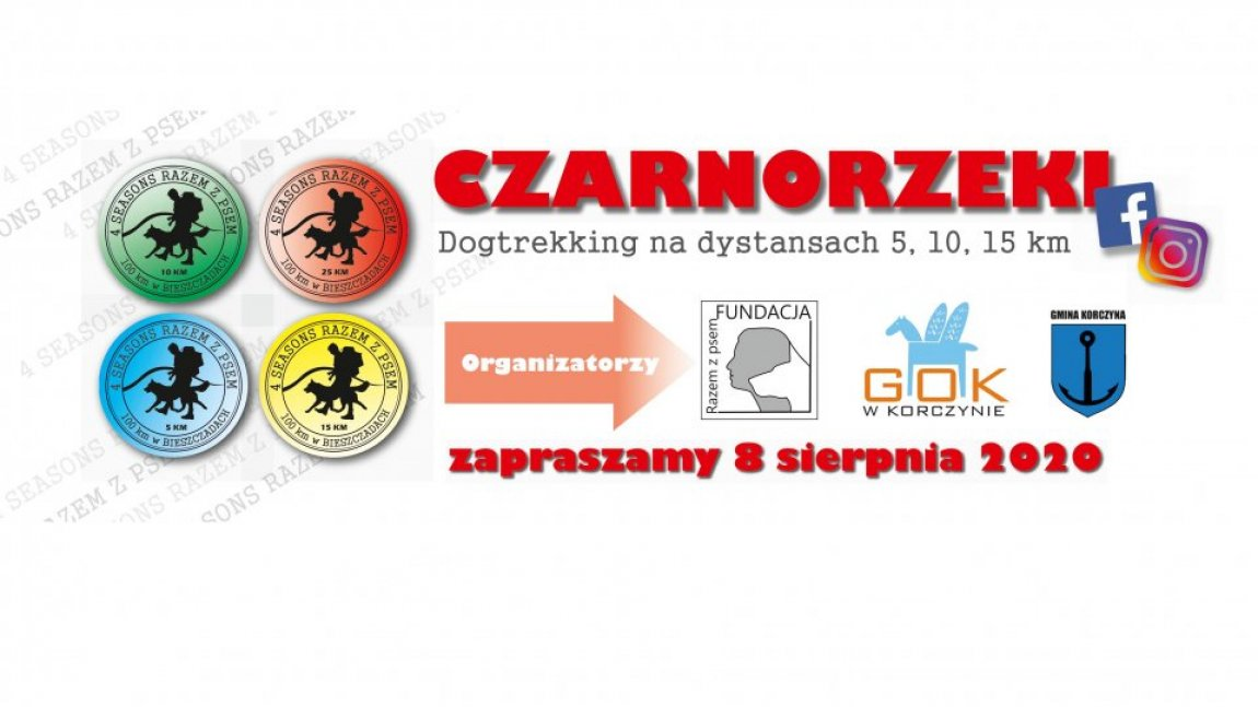 Dogtrekking w Czarnorzekach
