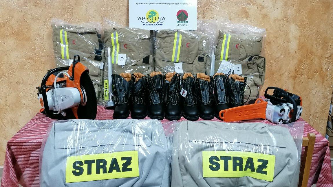Nowy sprzęt dla Ochotniczych Straży Pożarnych