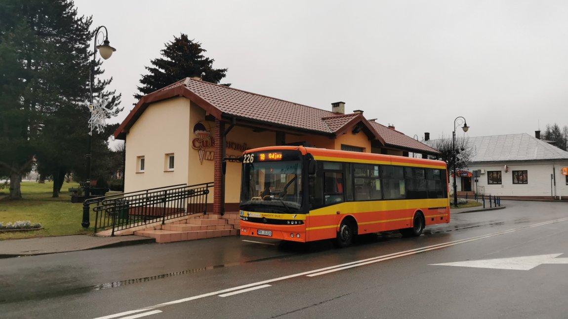 Więcej przystanków na linii autobusowej Korczyna-Wola Komborska. Autobus pojedzie również na Burkot
