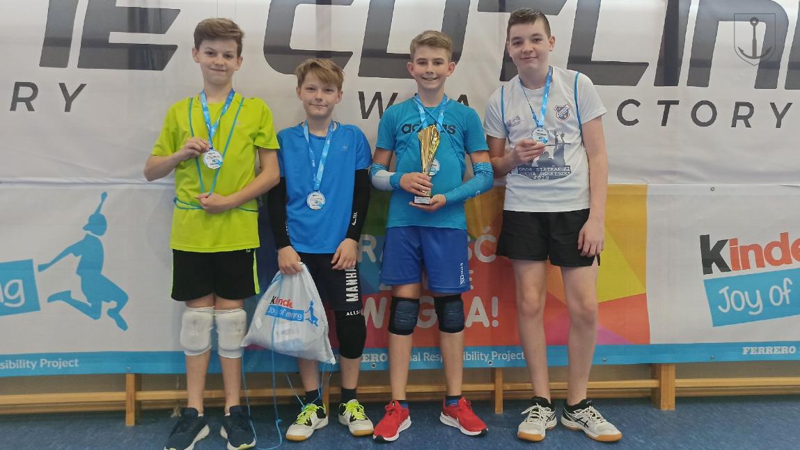 Nasi siatkarze z sukcesami na finale Kinder+Sport 2021