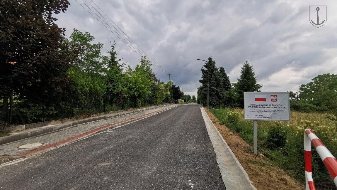 Zakończono przebudowę ulicy Leszczyńskiej w Korczynie