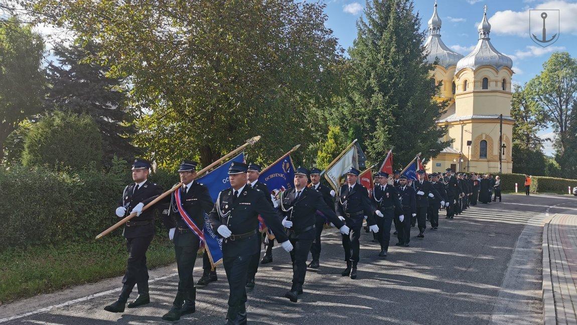 Siedemdziesięciolecie działalności Ochotniczej Straży Pożarnej w Krasnej
