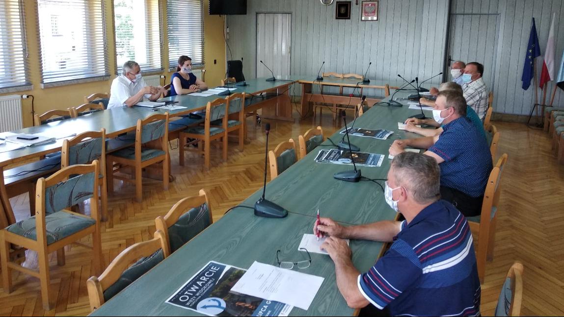 Spotkanie Wójta Gminy z sołtysami miejscowości.